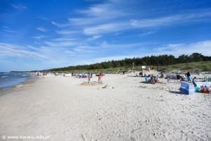 Karwia - nadmorska plaża